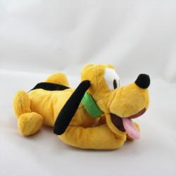 Doudou chien Pluto collier vert DISNEY STORE