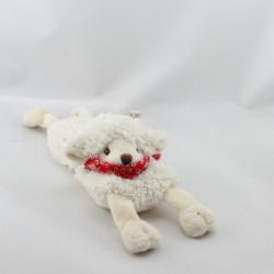 Doudou plat chien mouton bandanas BUKOWSKI