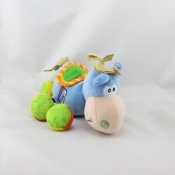 Doudou ane cheval bleu Ouatoo PLAYGRO