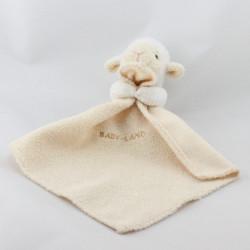 Doudou mouton avec mouchoir BABY LAND