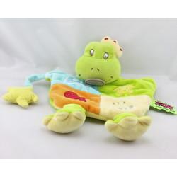 Doudou et compagnie marionnette grenouille les Zouzoos A la mer Tatoo