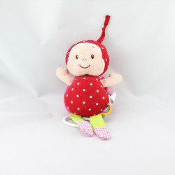 Doudou musical coccinelle rouge MINIMI