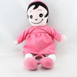 Doudou poupée Fille rose MARESE