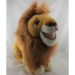 Peluche le roi lion Simba Mufasa DISNEY MATTEL 1993