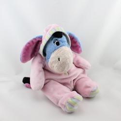Doudou Bourriquet pyjama rose DISNEY NICOTOY 30 cm