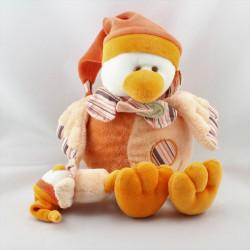 Doudou et compagnie Banjo l'oiseau orange avec bébé