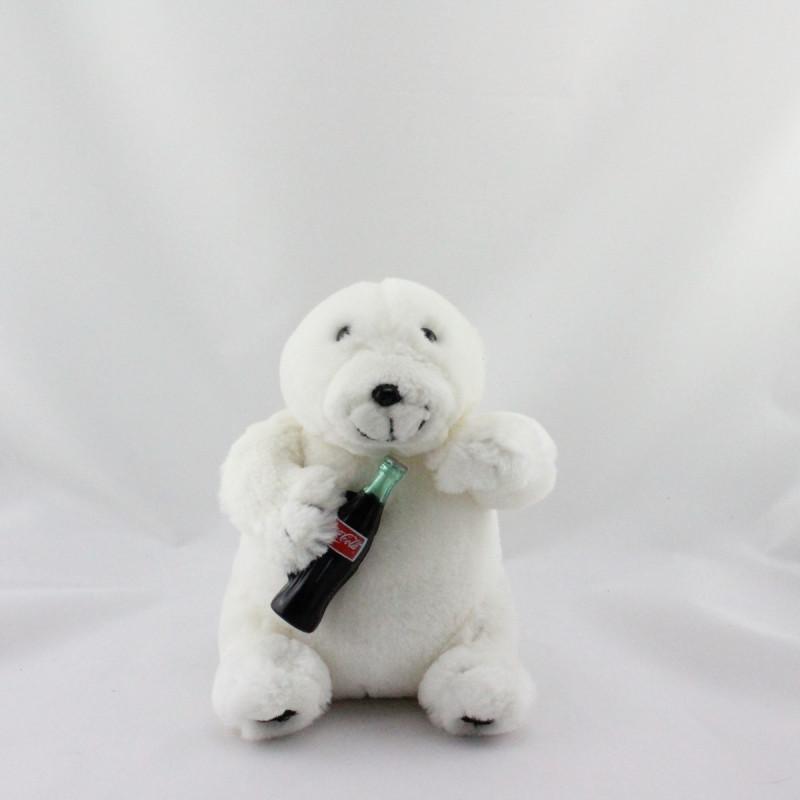 Peluche Ours polaire blanc Coca Cola 1994