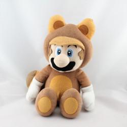 Peluche Mario Bros en costume Raton Laveur NINTENDO