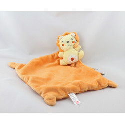 Doudou plat lion orange NICOTOY