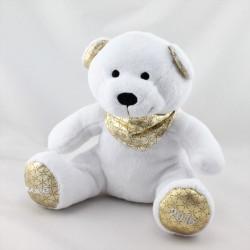 Doudou ours blanc or NOCIBE 2016