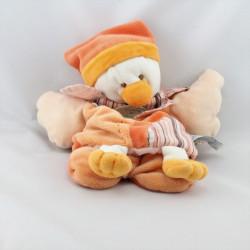Doudou et compagnie plat marionnette Banjo l'oiseau