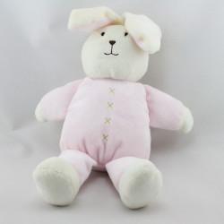 Doudou lapin blanc rose MARKS & SPENCER