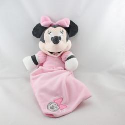 Doudou Minnie rose avec mouchoir DISNEY NICOTOY