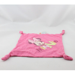 Doudou plat minnie rose Carrefour