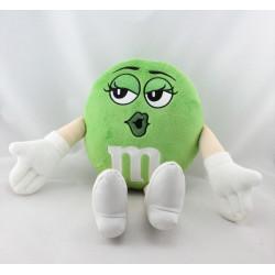 Peluche publicitaire bonbon vert M&M'S