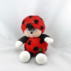 Ancienne peluche coccinelle COCOCINEL NICOTOY