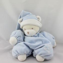Doudou ours bleu blanc TARTINE ET CHOCOLAT