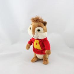 Doudou écureuil Alvin et les Chipmunks GIPSY