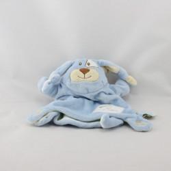 Doudou et compagnie plat marionnette chien bleu
