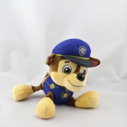 Doudou peluche chien bleu Pat Patrouille Paw Patrol