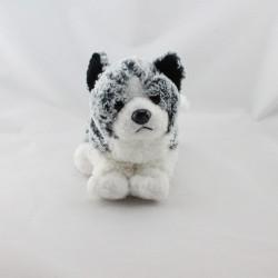 Doudou chien gris blanc NICOTOY
