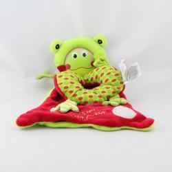 Doudou et compagnie plat grenouille rouge verte Les bouilles Super croa