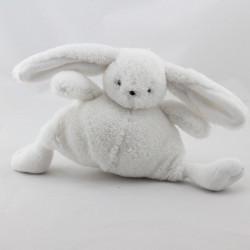 Doudou lapin blanc BEBE CHOCOLAT