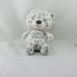 Doudou chat léopard blanc gris Lovely Baby KIABI SIMBA TOYS