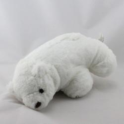Doudou ours polaire blanc LESTRA