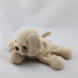 Doudou chien beige