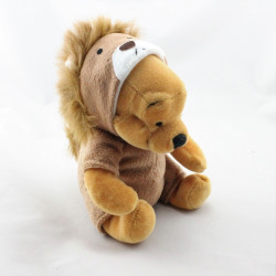 Peluche Winnie l'ourson déguisé en lion Collection Disney