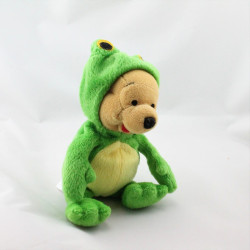 Peluche Winnie l'ourson déguisé en cerf renne elan Collection Disney
