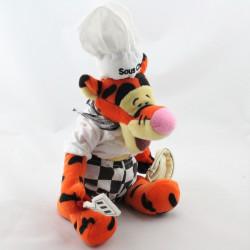 Doudou Tigrou déguisé en sous chef cuisinier Collection Disney