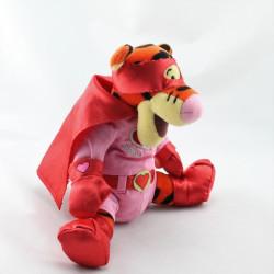 Doudou Tigrou déguisé en super héros love Collection Disney