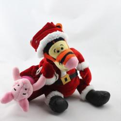 Doudou Tigrou déguisé en père Noël Collection Disney