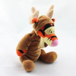 Doudou Tigrou déguisé en cerf renne elan Collection Disney