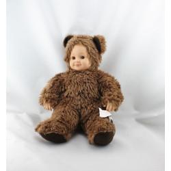 Poupée ours marron ANNE GEDDES