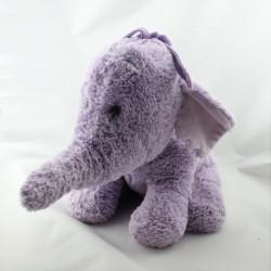 Doudou peluche Eléphant Lumpy rose mauve tout doux Disney store 33 cm