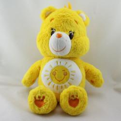 Peluche Bisounours jaune soleil  Grosjojo CARE BEARS 2014