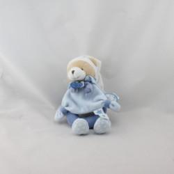 Doudou et compagnie hochet ours bleu étoiles Petit Chou