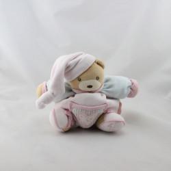 Doudou ours Liliblue rose bleu coeur KALOO