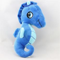 Doudou peluche hippocampe bleu SANDY