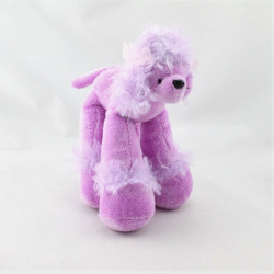Doudou chien caniche rose B&G INTERNATIONAL