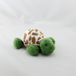 Doudou tortue verte blanc marron MARY MEYER