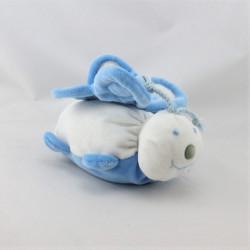 Doudou papillon blanc bleu YVES ROCHER