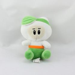 Doudou lutin blanc vert orange BUFFALO GRILL