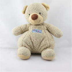 Doudou ours beige Tender Friends NICOTOY
