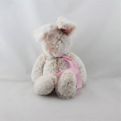 Doudou lapin beige rose JELLYCAT