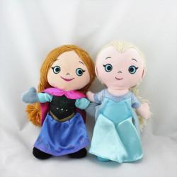 Peluche Elsa et Anna La Reine des Neiges Frozen DISNEYPARKS