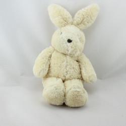 Doudou lapin blanc écru NOUNOURS